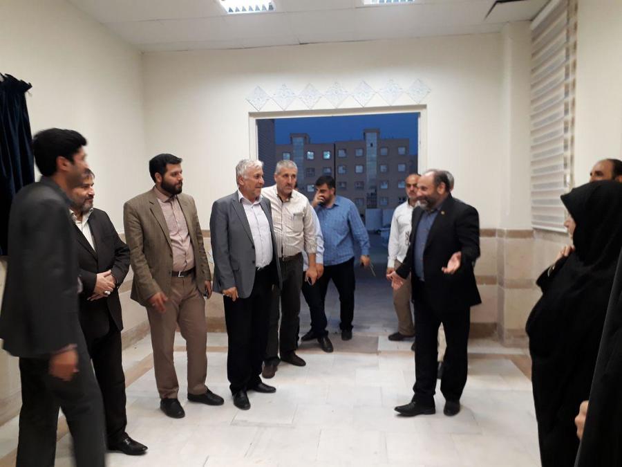 بازدید مسئولان لبنانی از مجتمع کانون قم
