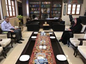 دیدار مدیرکل کانون استان با استاندار بوشهر (تیرماه 97 )