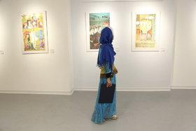نمایشگاه آثار منتخب تصویرگری براتیسلاوا و کارگاه آموزشی گلدوزیان در سنندج