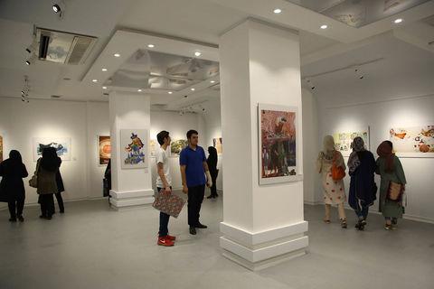 نمایشگاه تصویرگری براتیسلاوا در سنندج به روایت تصویر2