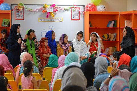 مراسم ویژه روز دختر در مرکز شماره 14 کانون پرورش فکری کرمانشاه