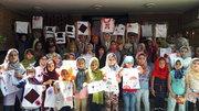 استفاده از کیسههای پارچهای، پیام دوستی کودکان به طبیعت