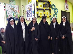 ویژه برنامه های روز دختر و دهه کرامت در مراکز کانون بوشهر به روایت تصویر