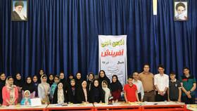 زلالای خوانش آثار، در انجمن ادبی مرکز ماسال