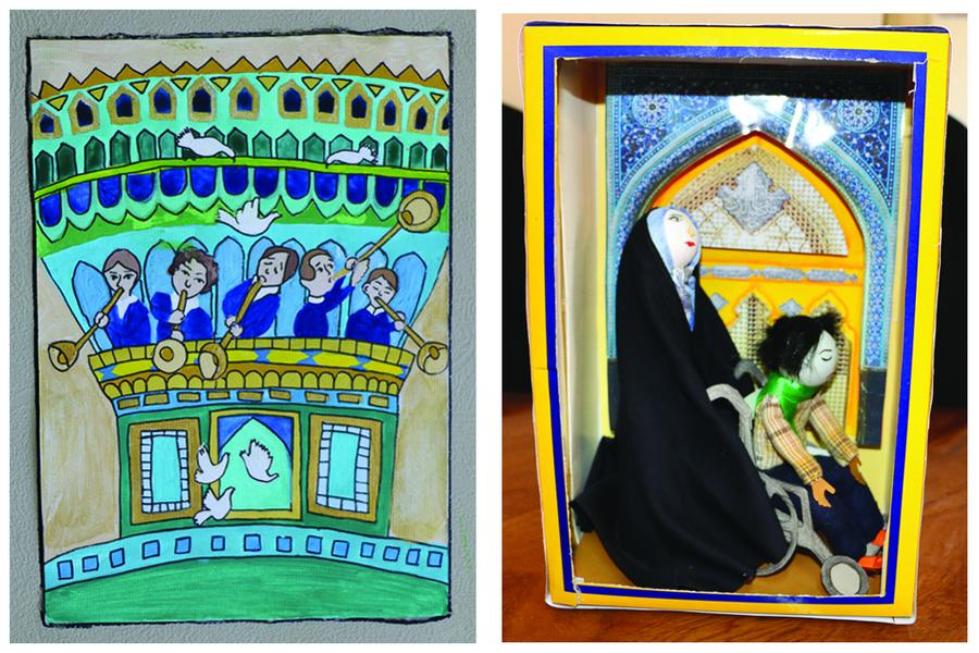برگزیدگان مرحله استانی جشنواره رضوی در سمنان