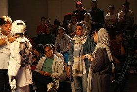 پشت صحنه فیلم «ضربه فنی» غلامرضا رمضانی