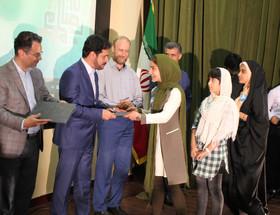 از برگزیدگان جشنواره رضوی بخش کودک ونوجوان مازندران تقدیر شد