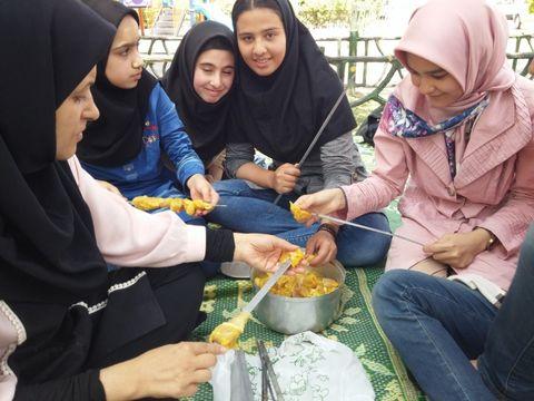 اردوی اعضای کتابخوان مرکز 4 قم