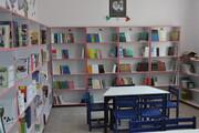 افتتاح کتابخانه درون مدرسه