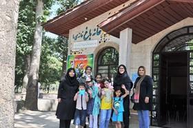 باغ فاتح کرج، میزبان کودکان ونوجوانان کتابخوان شد