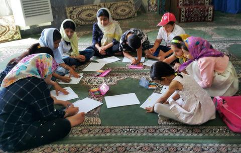 ویژه برنامه «با بچه های روستا» در بخش رستم آباد گیلان
