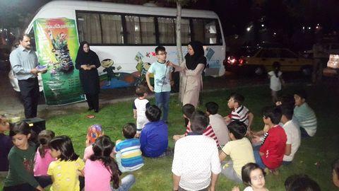طرح پویش کتاب در زنجان