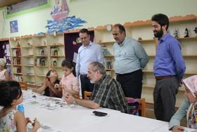 بازدید معاون تولید کانون پرورش فکری کودکان ونوجوانان  از کانون مازندران