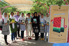 طرح « فصل گرم کتاب  » در پارک ائل گلی تبریز