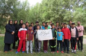 اردوی تابستانهی اعضای مرکز شماره ۵ کانون اردبیل