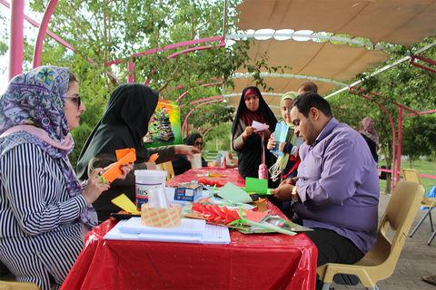 طرح « فصل گرم کتاب » کانون پرورش فکری کودکان و نوجوانان، در پارک ائل گلی تبریز