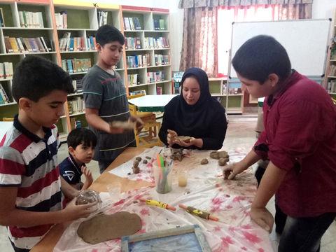 فعالیت های تابستانه مراکز میناب و ابوموسی