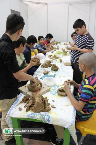 هجدهمین مسابقه هنرهای تجسمی کانون تهران برگزار شد
