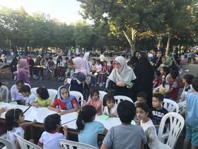 هفته اول اجرای طرح «پویش فصل گرم کتاب» در خراسان رضوی- پارک ملت مشهد