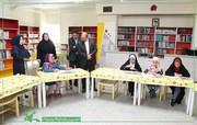 بازدید معاون توسعه و مدیریت منابع از کانون همدان