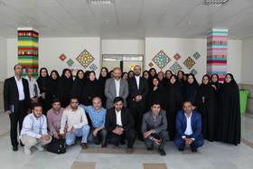 گزارش تصویری حضور معاون توسعه و مدیریت منابع کانون به استان قم
