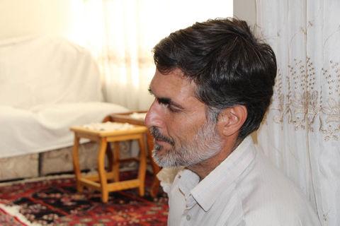 دیدار خانواده شهیدان ملک محمدی