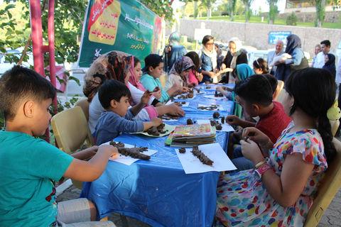 «پویش فصل گرم کتاب» همراه با کتابخوانی، بازی و کاردستی در کانون تبریز