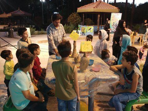 گزارش تصویری دومین هفته از پویش فصل گرم کتاب- یزد- امرداد97