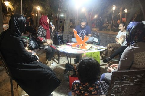 سومین ایستگاه فصل گرم کتاب با حضور سید نوید سیدعلی اکبر
