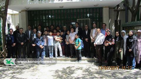 بازدید شهردار منطقه ۱۷ از مرکز ۲۵ کانون تهران