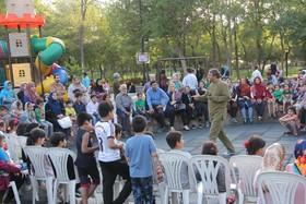 هفته دوم اجرای طرح «پویش فصل گرم کتاب» در خراسان رضوی- پارک ملت مشهد