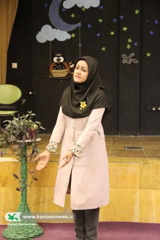 برگزاری جشنواره قصه گویی دور حوزه ای در مرکز 42 کانون تهران / عکس از یونس بنامولایی