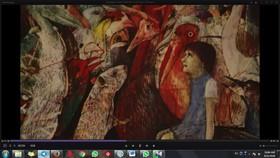 نمایشگاه آثار منتخب مسابقه تصویرسازی براتیسلاوا در کرمان