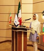 بهار جعفری عضو برگزیده داستان جشنواره فرهنگی کشور کشور