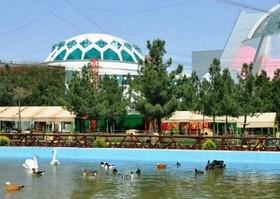 کودکان و نوجوانان مرکز فرهنگی هنری شماره۸ کانون مشهد از باغ پرندگان بازدید کردند