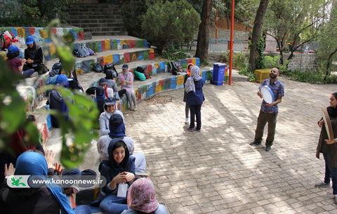 اردوی یک روز رنگی اعضاء دختر کانون تهران / عکس از الهه علیرضالو