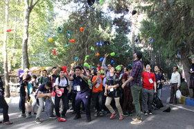 نوجوانان کانون تهران« یک روز رنگی» را تجربه کردند