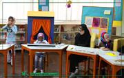فعالیت فرهنگی بچههای دارای معلولیت در مرکز فراگیر کانون
