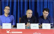 غلامرضا رمضانی در نشست خبری «ضربه فنی»