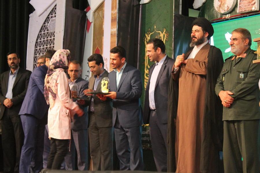 اعضا کانون خوزستان برگزیده ملی هشتمین جشنواره کتابخوانی رضوی شدند