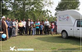 فعالیت کتابخانه سیار روستایی کانون در سوادکوه آغاز شد