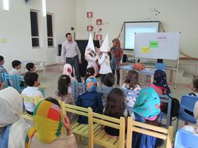 ویژهبرنامهی پایان کارگاههای تابستانی در مراکز کانون استان اردبیل