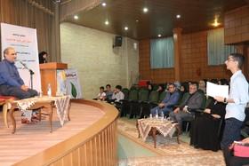 گزارش تصویری نشست ادبی دو پنجره در کانون فارس
