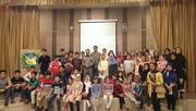 مراسم پایان تابستان مرکز نسیم شهر کانون تهران