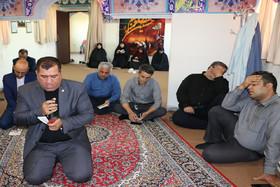 مراسم زیارت عاشورا در ادارهکل کانون سمنان برگزار شد