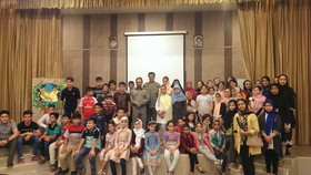 کودکان کانون نسیم شهر با محیطبان نمونه آشنا شدند