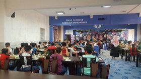 حضور دانش آموزان کانون در مسابقات قهرمانی استان تهران