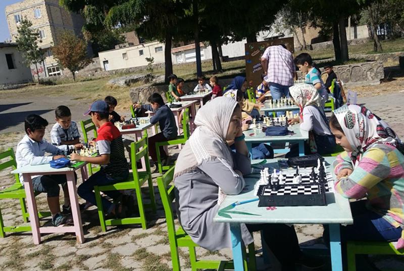 رقابت شطرنجبازان مرکز۱ کانون مشگینشهر