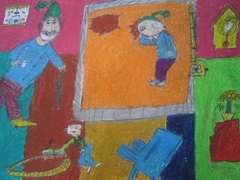 احسان رنجبران موفق به کسب دیپلم افتخار مسابقه بینالمللی نقاشی