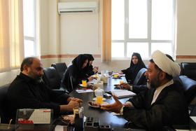 دیدار مدیران نهضت سوادآموزی با مدیرکل و کارشناسان کانون استان قم